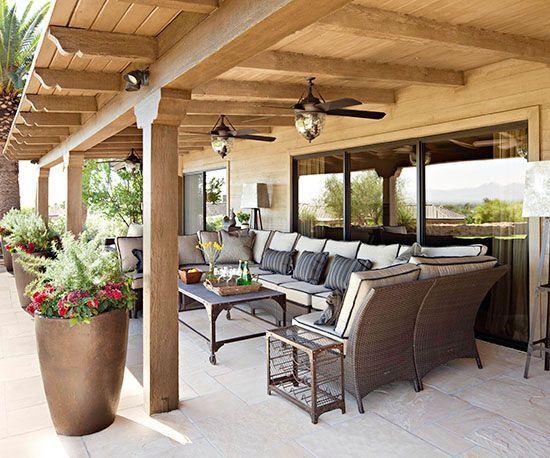 De leukste decoratie ideeën voor je overdekte terras u nieuws en